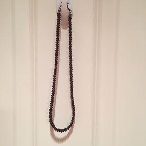 "Jewelry - Maroon/Garnet Necklace - 18"""